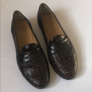 570e5b19a8e Other - Salvatore Ferragamo Crocodile Loafers